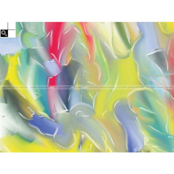 Headway : 40 x 30 cm – Grafisk kunst på lærred af Søren Grooss – Årstal : 2011