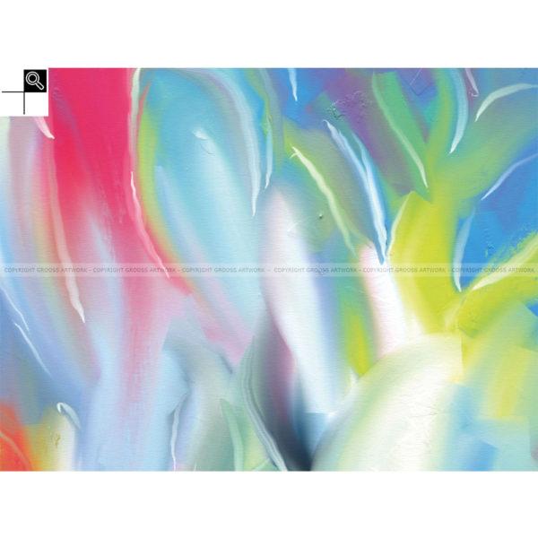 Progress : 40 x 30 cm – Grafisk kunst på lærred af Søren Grooss – Årstal : 2011