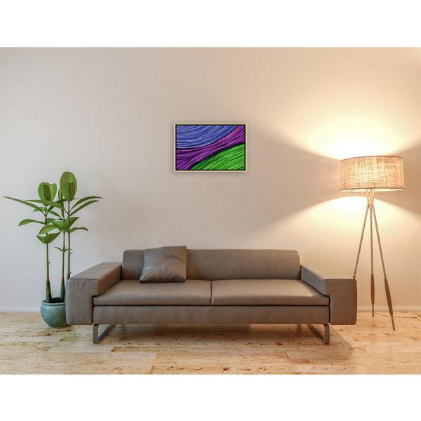 Why choose sides : 60 x 40 cm – Grafisk kunst på lærred af Søren Grooss – Årstal : 2011