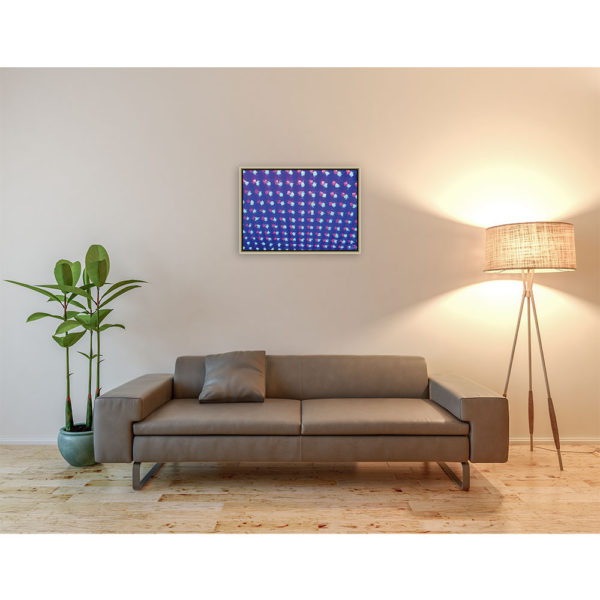 The morning after : 70 x 50 cm – Grafisk kunst på lærred af Søren Grooss – Årstal : 2013