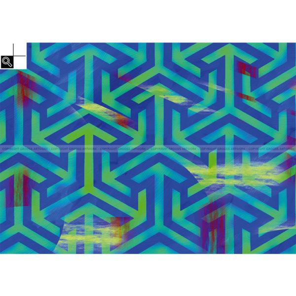 C-more : 70 x 50 cm – Grafisk kunst på lærred af Søren Grooss – Årstal : 2013