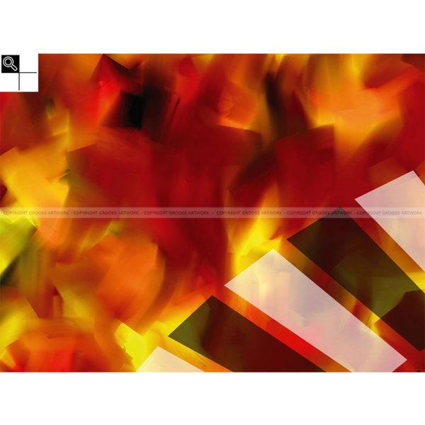 Transparent lies : 80 x 60 cm – Grafisk kunst på lærred af Søren Grooss – Årstal : 2014