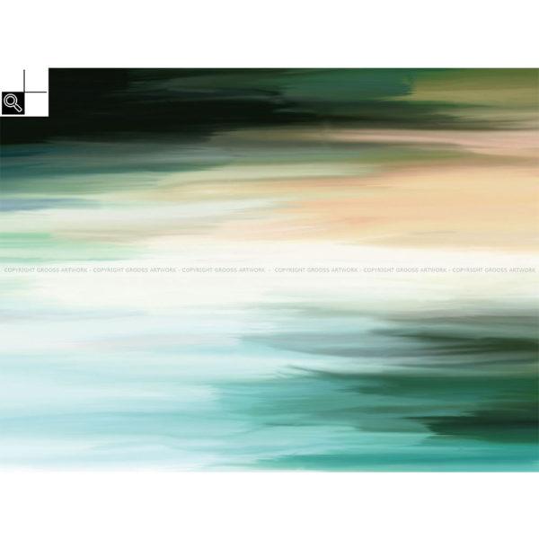 What once was, is now gone : 80 x 60 cm – Grafisk kunst på lærred af Søren Grooss – Årstal : 2014