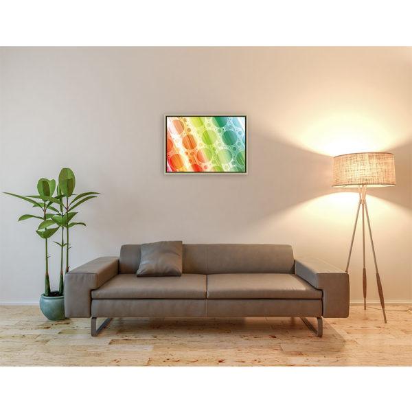 When colors of life disappear : 70 x 50 cm – Grafisk kunst på lærred af Søren Grooss – Årstal : 2015