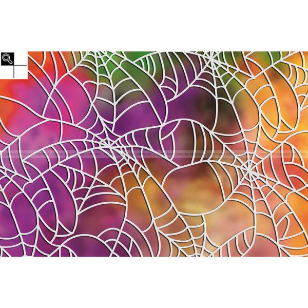 Spider on crystal meth : 60 x 40 cm – Grafisk kunst på lærred af Søren Grooss – Årstal : 2016