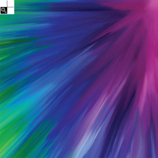 Going crazy : 30 x 30 cm – Grafisk kunst på lærred af Søren Grooss – Årstal : 2017