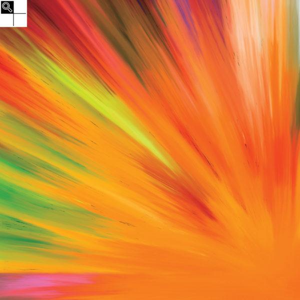 Believer : 30 x 30 cm – Grafisk kunst på lærred af Søren Grooss – Årstal : 2017