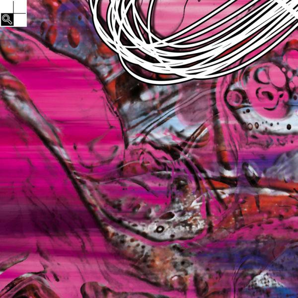 Infinity : 50 x 50 cm – Grafisk kunst på lærred af Søren Grooss – Årstal : 2018