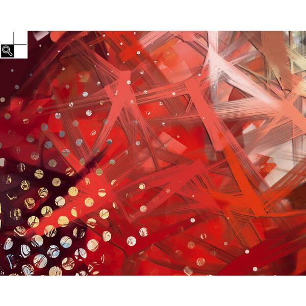 Beautiful Life (100 X 80 cm) - Grafisk kunst på lærred af Søren Grooss – Årstal : 2019