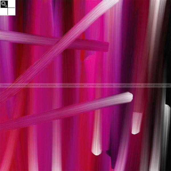 When i think of you : 50 x 50 cm – Grafisk kunst på lærred af Søren Grooss – Årstal : 2011