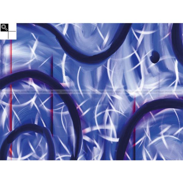The fishing trip : 40 x 30 cm – Grafisk kunst på lærred af Søren Grooss – Årstal : 2011