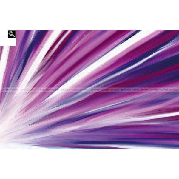 Large star : 60 x 40 cm – Grafisk kunst på lærred af Søren Grooss – Årstal : 2011