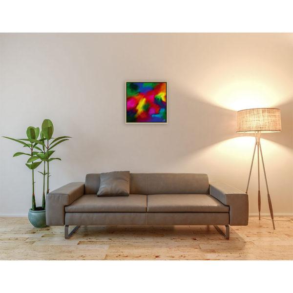 Mom, i´m thinking of you : 50 x 50 cm – Grafisk kunst på lærred af Søren Grooss – Årstal : 2013