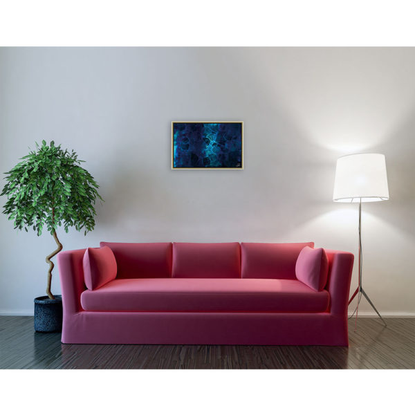 Fading memories : 60 x 40 cm – Grafisk kunst på lærred af Søren Grooss – Årstal : 2013