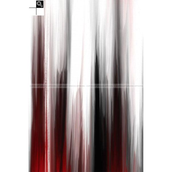 And life goes on : 40 x 60 cm – Grafisk kunst på lærred af Søren Grooss – Årstal : 2013
