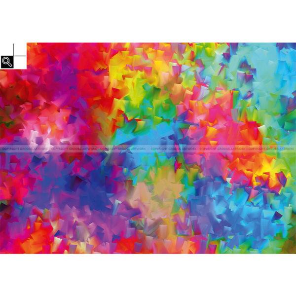 Do it now : 70 x 50 cm – Grafisk kunst på lærred af Søren Grooss – Årstal : 2014