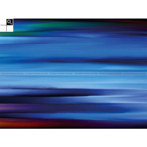 Memories from Bornholm : 80 x 60 cm – Grafisk kunst på lærred af Søren Grooss – Årstal : 2014