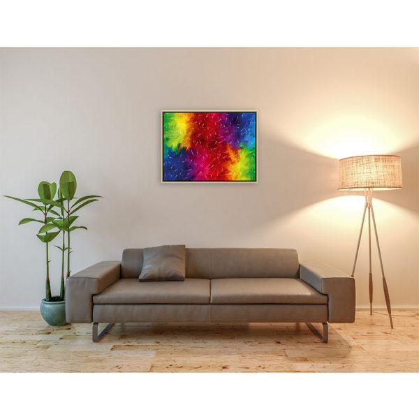 Touched by you : 80 x 60 cm – Grafisk kunst på lærred af Søren Grooss – Årstal : 2014