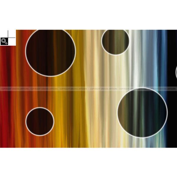 Valley of dreams : 150 x 100 cm – Grafisk kunst på lærred af Søren Grooss – Årstal : 2014