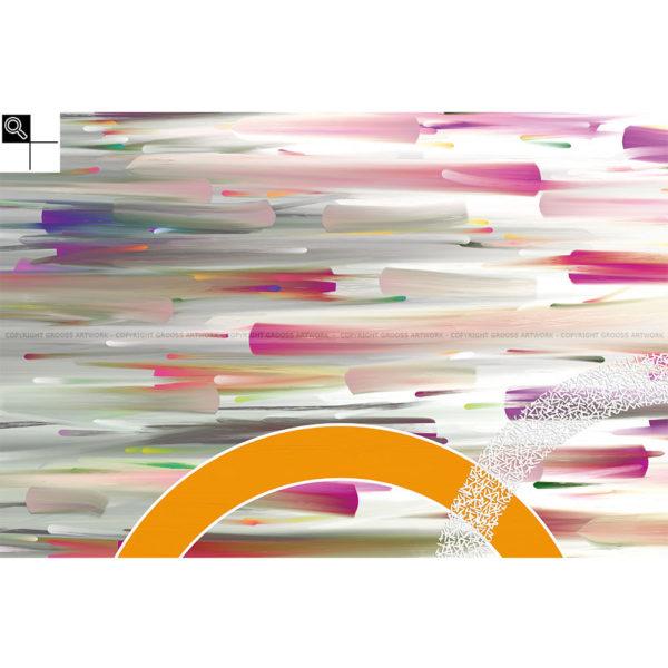 Just believe : 150 x 100 cm – Grafisk kunst på lærred af Søren Grooss – Årstal : 2014