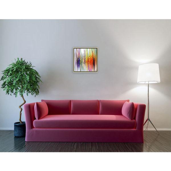 How do i know : 50 x 50 cm – Grafisk kunst på lærred af Søren Grooss – Årstal : 2014