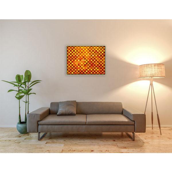 Expressions : 80 x 60 cm – Grafisk kunst på lærred af Søren Grooss – Årstal : 2015