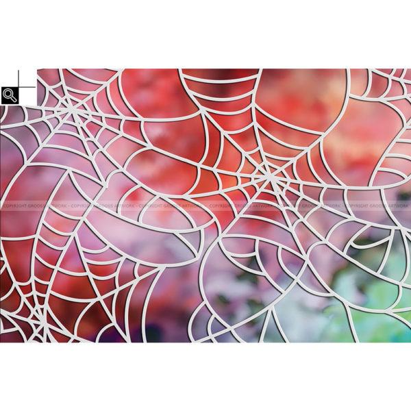 Spider on heroin : 60 x 40 cm – Grafisk kunst på lærred af Søren Grooss – Årstal : 2016