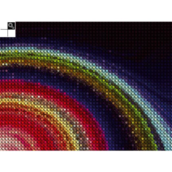 Mind game : 80 x 60 cm – Grafisk kunst på lærred af Søren Grooss – Årstal : 2016