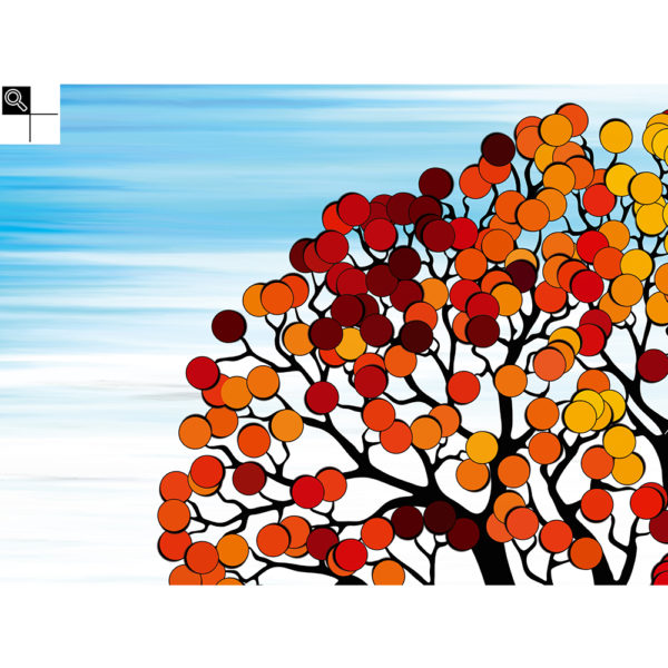 All your colors : 80 x 60 cm – Grafisk kunst på lærred af Søren Grooss – Årstal : 2016