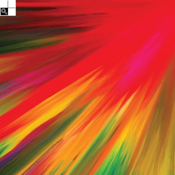 Great spirit : 30 x 30 cm – Grafisk kunst på lærred af Søren Grooss – Årstal : 2017