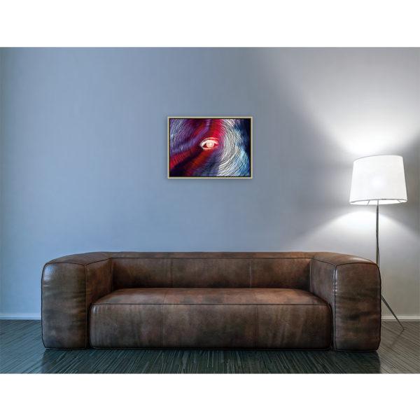 Constructs Of My Mind : 70 x 50 cm – Grafisk kunst på lærred af Søren Grooss – Årstal : 2018
